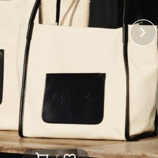 agnes b. - 【WEB限定】QAS20-01 ロゴトートバッグ アニエスベー  美品
