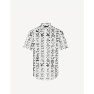 ルイヴィトン(LOUIS VUITTON)のプレイスグラフィックシャツ(シャツ)