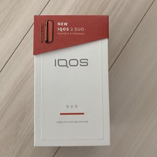 亜久里様専用 新型アイコス IQOS 3.0 DUO レッド(タバコグッズ)