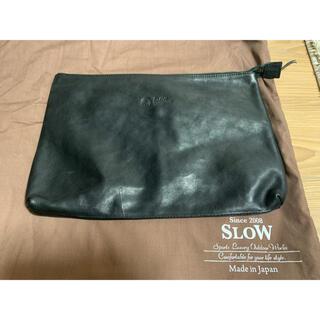 BEAMS - SLOW クラッチバッグ