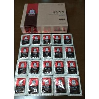 超激安値引き★高濃縮・最高品質・最高極上高麗人参茶『正官庄紅蔘精茶』お試し20袋(健康茶)