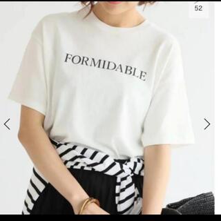 IENA - ロゴプリントTシャツ