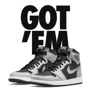 "NIKE - NIKE AIR JORDAN 1 HIGH OG ""SHADOW 2.0"""