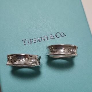Tiffany & Co. - ティファニー ナローリング ペアリング 925