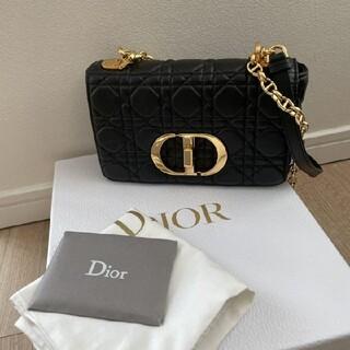Christian Dior - DIOR CARO スモールバッグ カナージュ ソフトカーフスキン