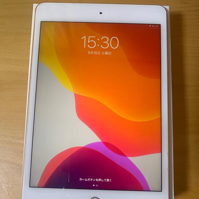 Apple(アップル)のiPad mini  5世 64GB ゴールド スマホ/家電/カメラのPC/タブレット(タブレット)の商品写真