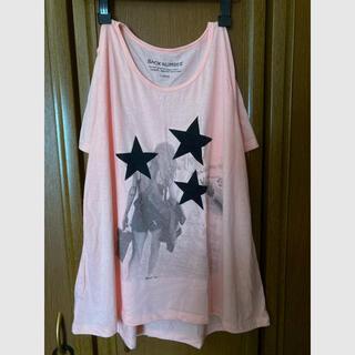 バックナンバー(BACK NUMBER)の【新品未使用】ストリート/カジュアル/Tシャツ/ピンク(Tシャツ(半袖/袖なし))