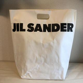 Jil Sander - JIL SANDER ペーパー トートバッグ 非売品 ロゴ ジルサンダー 希少