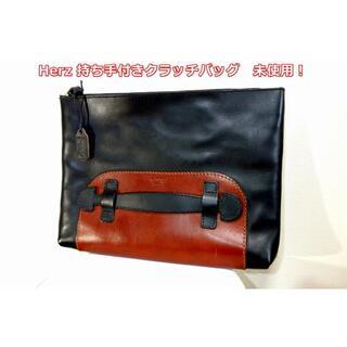 ヘルツ(HERZ)の【未使用】ヘルツ 持ち手付きクラッチバッグ Herz(セカンドバッグ/クラッチバッグ)