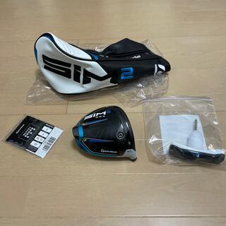 極美品!日本仕様 テーラーメイド SIM2 MAX 9.0 ヘッド ドライバー