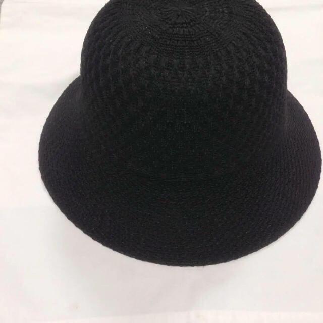 UNITED ARROWS(ユナイテッドアローズ)のユナイテッドアローズ 帽子 ハット 黒 日除け UV ブラック レディースの帽子(ハット)の商品写真