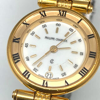 CHARRIOL - シャリオール 3針 クォーツ腕時計 稼働品 レディース腕時計