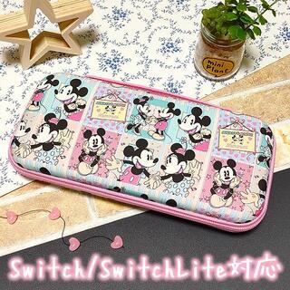 Nintendo Switch - ★特価★ ミッキー&ミニー Switch 収納 ケース ポーチ