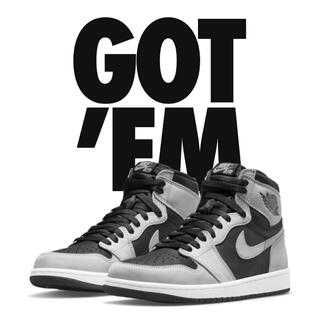 NIKE - Air Jordan 1 Retro High OG shadow 2.0