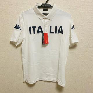 カッパ(Kappa)のKappa カッパ 白 ホワイト ITALIA イタリア ポロシャツ(ポロシャツ)