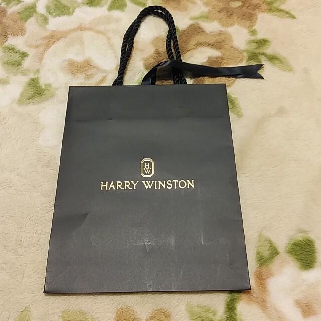 HARRY WINSTON(ハリーウィンストン)のハリーウインストン ショップバック ショッパー 300円 匿名配送 レディースのバッグ(ショップ袋)の商品写真