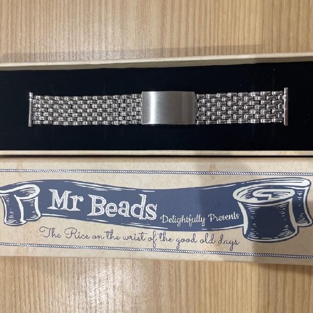 19mm ライスブレス ポリッシュ ヴィンテージ仕様 ステンレススチール 艶有り メンズの時計(金属ベルト)の商品写真