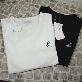 agnes b. - アニエスベー Tシャツ ブラック&ホワイト 2枚セット 即日発送 新品