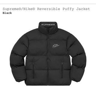 シュプリーム(Supreme)のsupreme Reversible puffy jacket Mサイズ(ダウンジャケット)