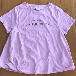 新品 zara girl  Tシャツ 140cm