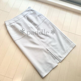 アストリアオディール(ASTORIA ODIER)のTRUDEAフロントポケットタイトスカートS(ひざ丈スカート)