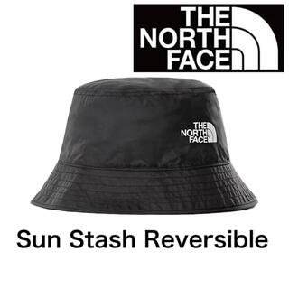 THE NORTH FACE - The North Face Sun Stash Reversible hat黒