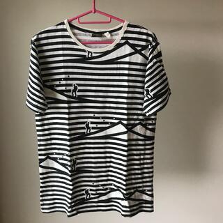 ファッティー(PHATEE)のphatee WEAR  ボーダーヘンプTシャツ(Tシャツ/カットソー(半袖/袖なし))