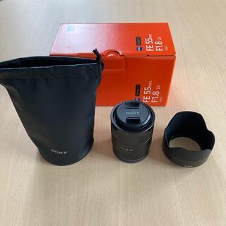SONY - sel55f18z ソニー ツァイス 単焦点レンズ