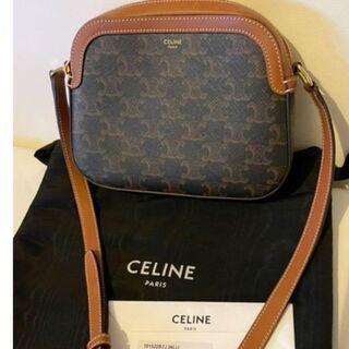 celine - セリーヌ CELINE トリオンフキャンバス スモールカメラバッグ