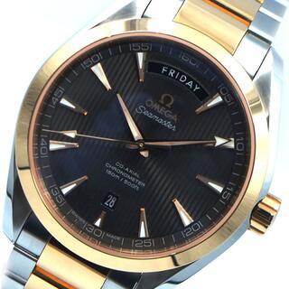 オメガ(OMEGA)のオメガ OMEGA シーマスターアクアテラ 腕時計 メンズ【中古】(腕時計(アナログ))