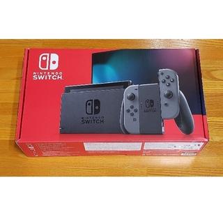 ニンテンドースイッチ(Nintendo Switch)の任天堂 Switch 本体 新品未開封品 新型モデル スイッチ(家庭用ゲーム機本体)