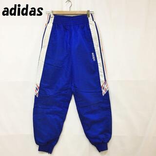 アディダス(adidas)の【人気】アディダス ジャージ パンツ デサント社製 バックファスナー ブルー L(その他)