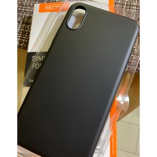 iPhone - turras iPhone XSケース【極薄マットBLACK.最終価格】