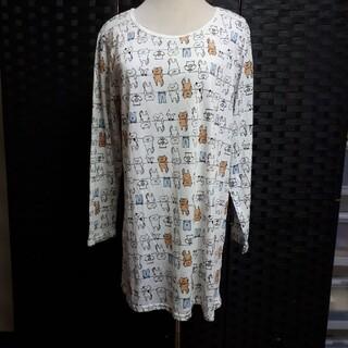 お洗濯猫のTシャツ♡LL No.81