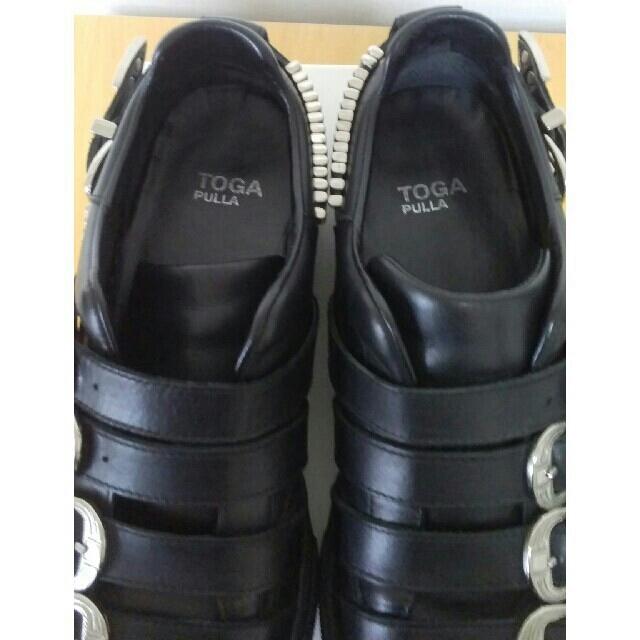 TOGA(トーガ)のTOGA PULLA メタルスニーカー サイズ38 レディースの靴/シューズ(スニーカー)の商品写真