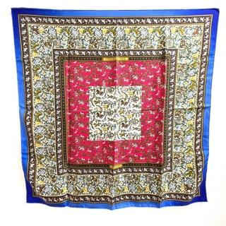 エルメス(Hermes)のエルメス カレ90  Chasse En Inde インドの狩猟 シルクスカーフ(バンダナ/スカーフ)