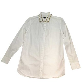 ジバンシィ(GIVENCHY)のジバンシィ GIVENCHY ビジューカラーシャツ 長袖Tシャツ メン【中古】(シャツ)