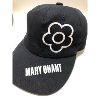 MARY QUANT - マリークワント キャップ 黒