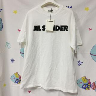 ジルサンダー(Jil Sander)のJIL SANDER ジルサンダー ロゴ ラウンドネック T シャツ(Tシャツ/カットソー(半袖/袖なし))