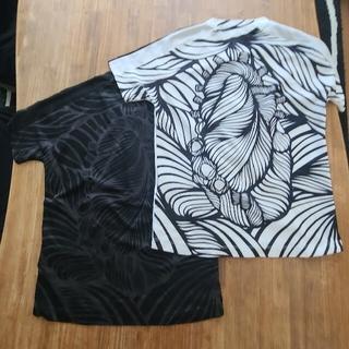 NIKE - 美品(黒) NIKE  サッカー 140  プラクティスシャツ 同柄色違い
