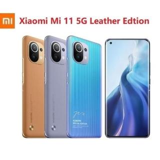 ◆レアモデル xiaomi mi11 皮レザー版 Snapdragon 888