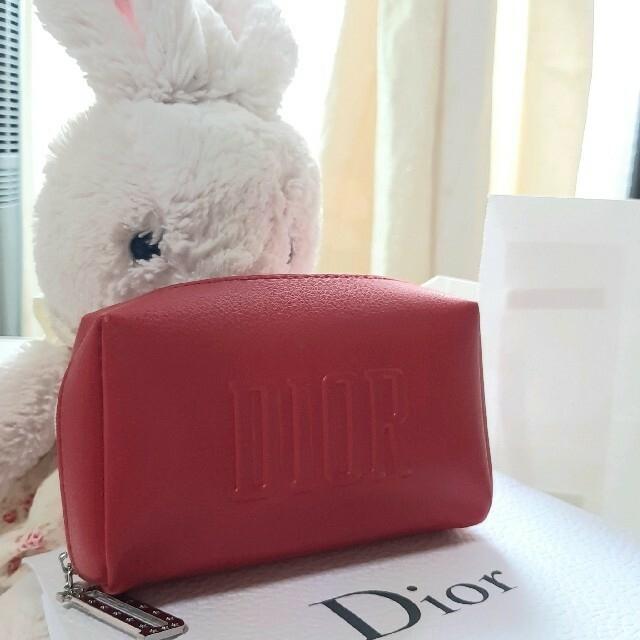 Christian Dior(クリスチャンディオール)の新品未使用)クリスチャン ディオール ♡ノベルティ ポーチ レディースのファッション小物(ポーチ)の商品写真