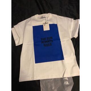 ジルサンダー(Jil Sander)のJILSANDERTシャツMブルー (Tシャツ/カットソー(半袖/袖なし))