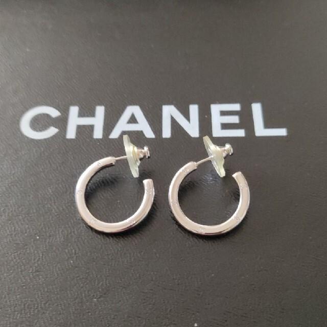 CHANEL(シャネル)のCHANEL ピアス フープ ココマーク  レディースのアクセサリー(ピアス)の商品写真