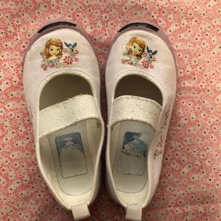 ディズニー(Disney)の上履き 上靴 ソフィア 17センチ(スクールシューズ/上履き)