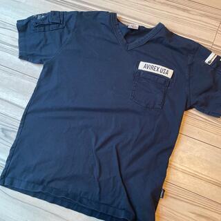 AVIREX - アヴィレックスTシャツ紺色