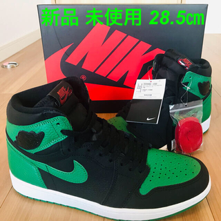 NIKE - JORDAN1 RETRO HIGH Pine Green/Black 28.5