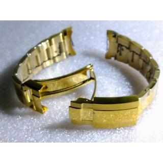 新品 腕時計 ステンレスベルト ロレックス対応 ゴールド 社外品
