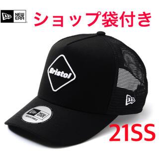 エフシーアールビー(F.C.R.B.)の21SS FCRB NEWERA MESH CAP 新品 メッシュキャップ(キャップ)