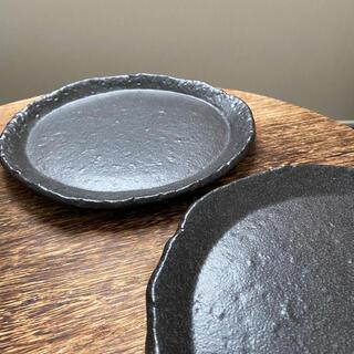 STUDIO CLIP - 和食器 プレート 炭黒 3枚セット